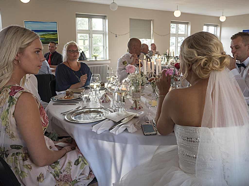 Bryllupsfest på Hotel Residens Møen