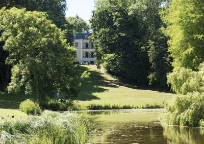 Sommer på Møn_liselund_slot